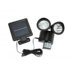 Lampa solara dubla Timeless cu senzor de miscare