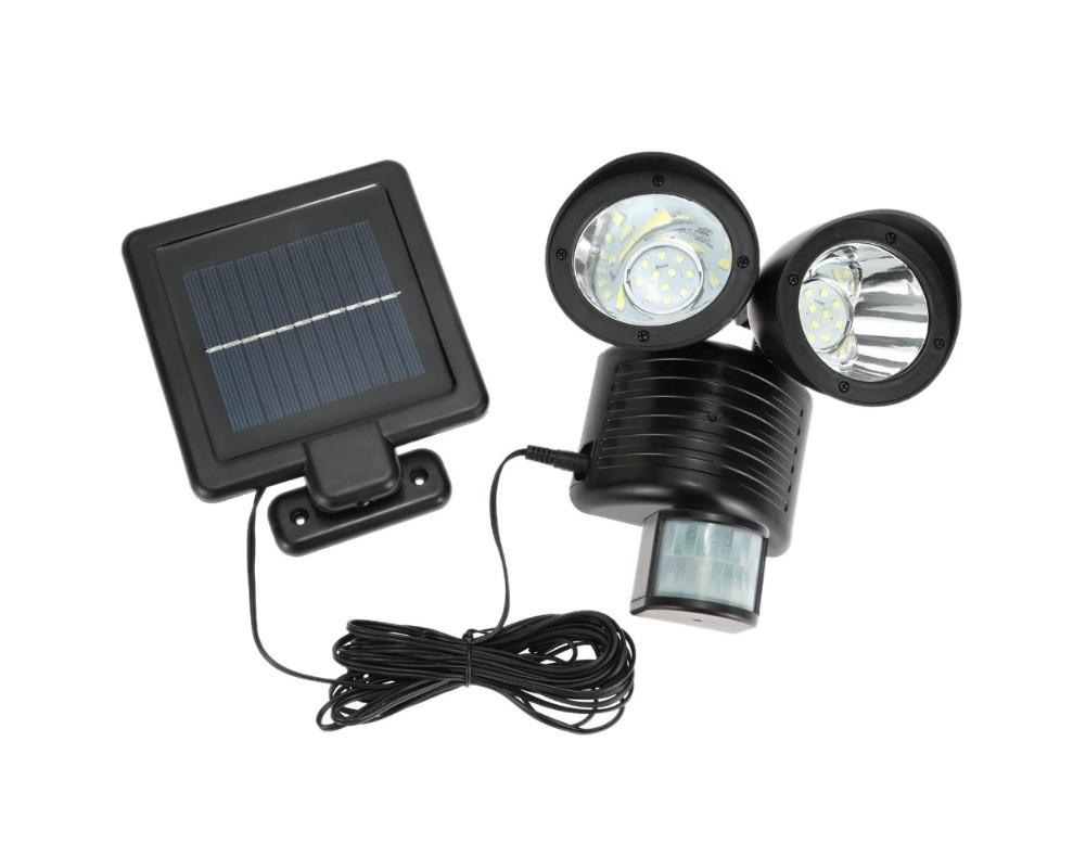 Lampa solara dubla Timeless cu senzor de miscare imagine techstar.ro 2021