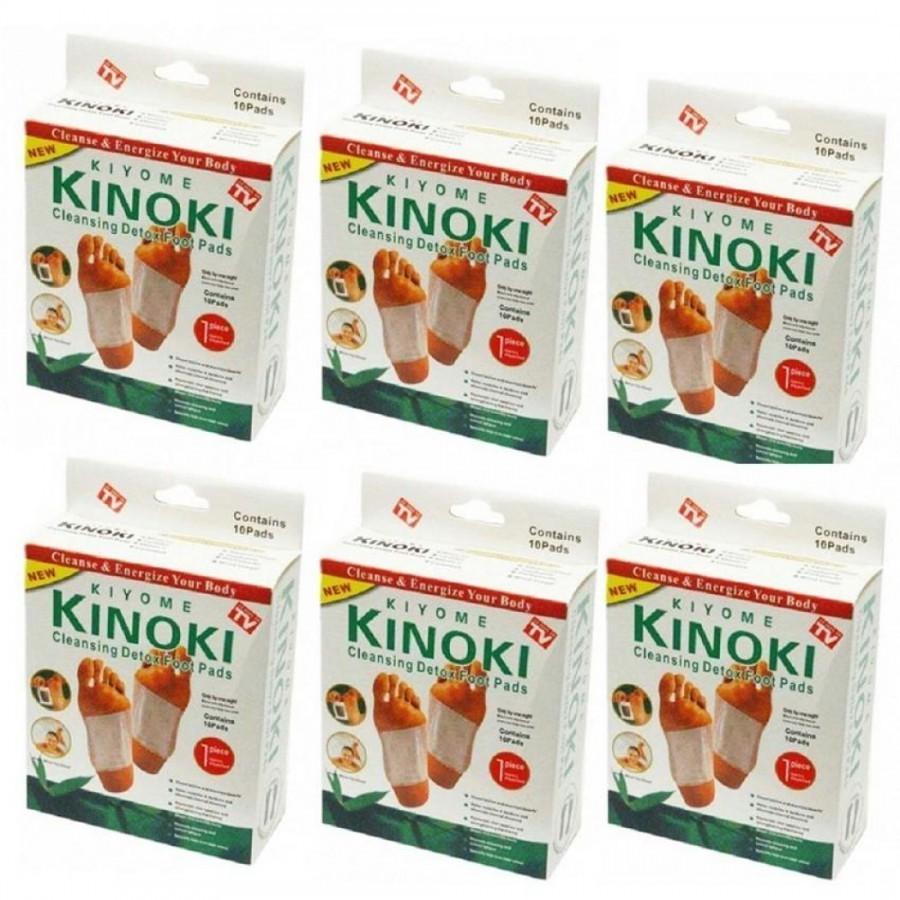 Set 50 de plasturi pentru detoxifiere Kinoki poza 2021