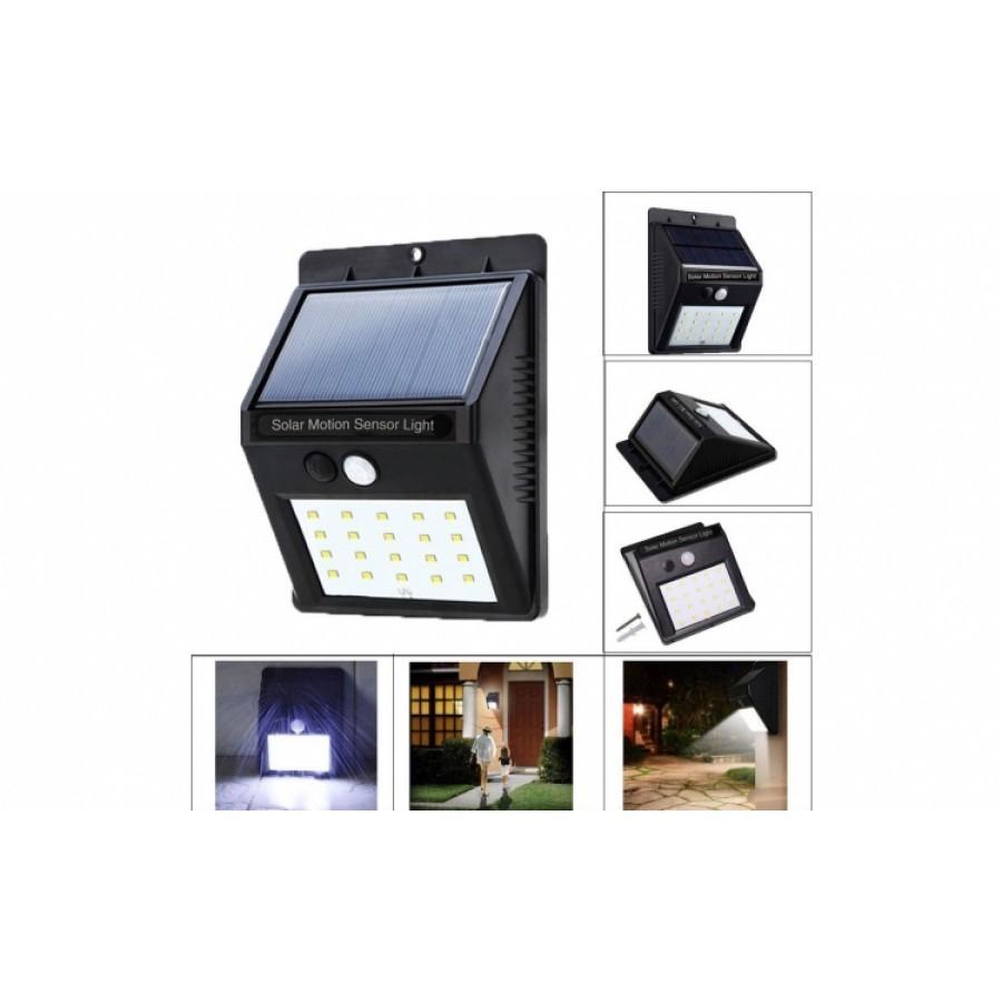 Lampa led solara cu senzor de miscare 1+1 Gratis imagine techstar.ro 2021