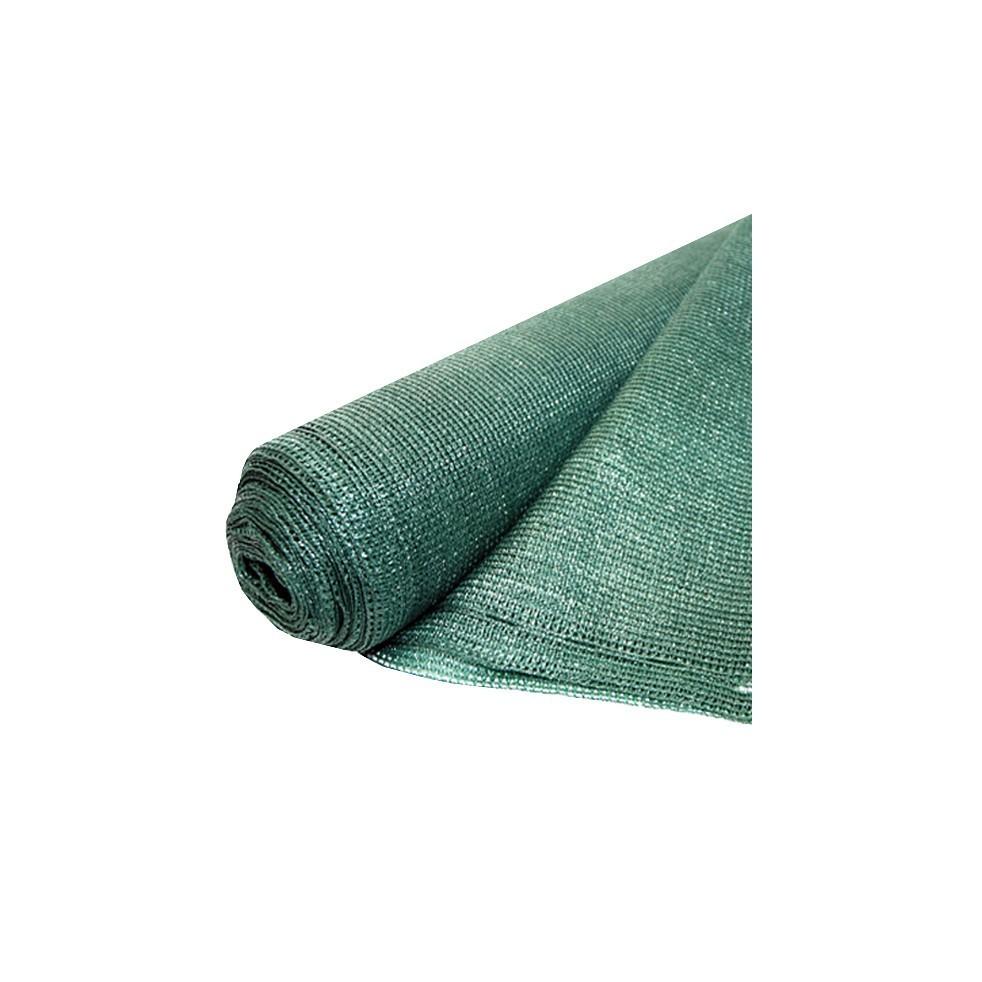Plasa umbrire HDPE UV, Evotools, latime 2 m, lungime 10 m, umbrire 95%, protectie UV, Verde