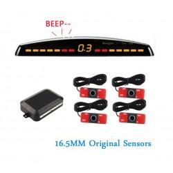Kit 4 senzori parcare auto Oem look originali cu display LED si averizare sonora