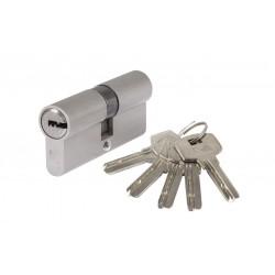Butuc Alama Amprenta ETS Lungime:90mm, Tip Descentrat, Dimensiuni 40+50, Culoare Nichel Periat