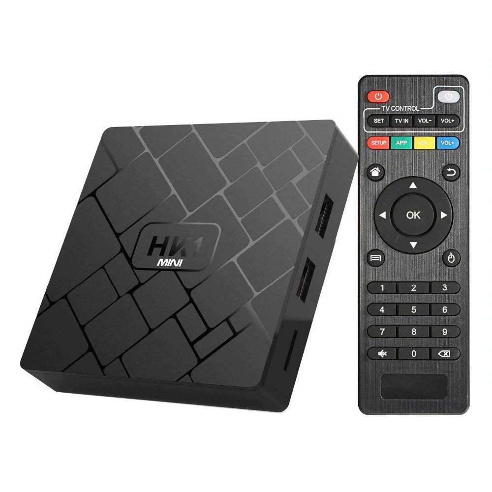 TV Box HK1 Mini, 4K, HDR, Android 9, 2GB RAM, 16GB ROM, Rockchip RK3229, Quad Core, WiFi 2.4G imagine techstar.ro 2021