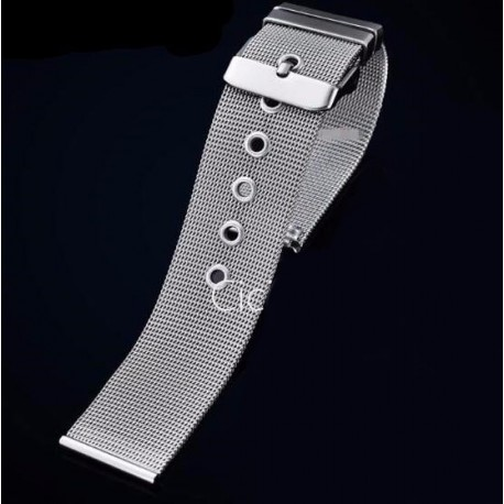 Bratara ceas MILANEZA impletita 12mm - 24mm