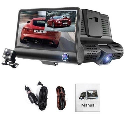Camera auto 3 in 1 Full HD 1080p, 5 mpx, Unghi 170 grade, Model SMT609 imagine techstar.ro 2021
