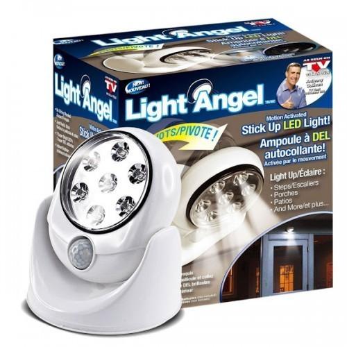 Bec Light Angel fara fir ajustabil cu senzor de miscare imagine techstar.ro 2021