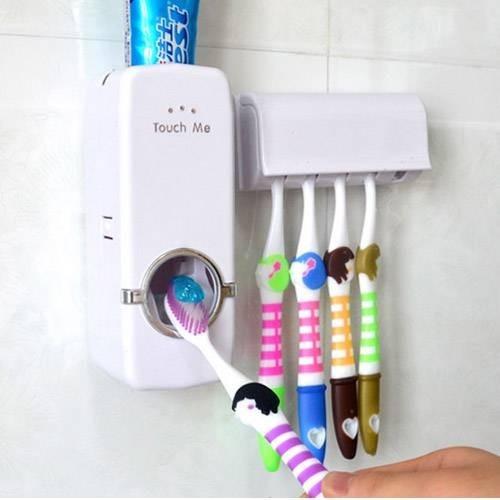Dozator pasta de dinti cu suport pentru periute imagine techstar.ro 2021