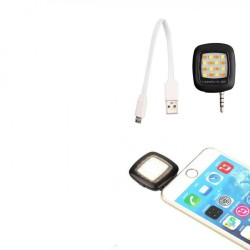 Proiector LED Selfie pentru smartphone si tableta , Jack 3.5mm