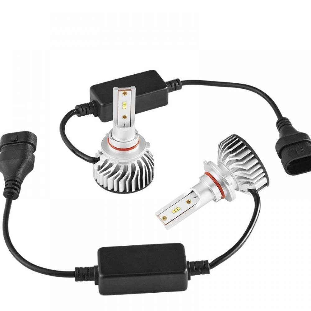 Set becuri LED auto F2, 50W, 4000Lm, 6500k - H7 imagine techstar.ro 2021