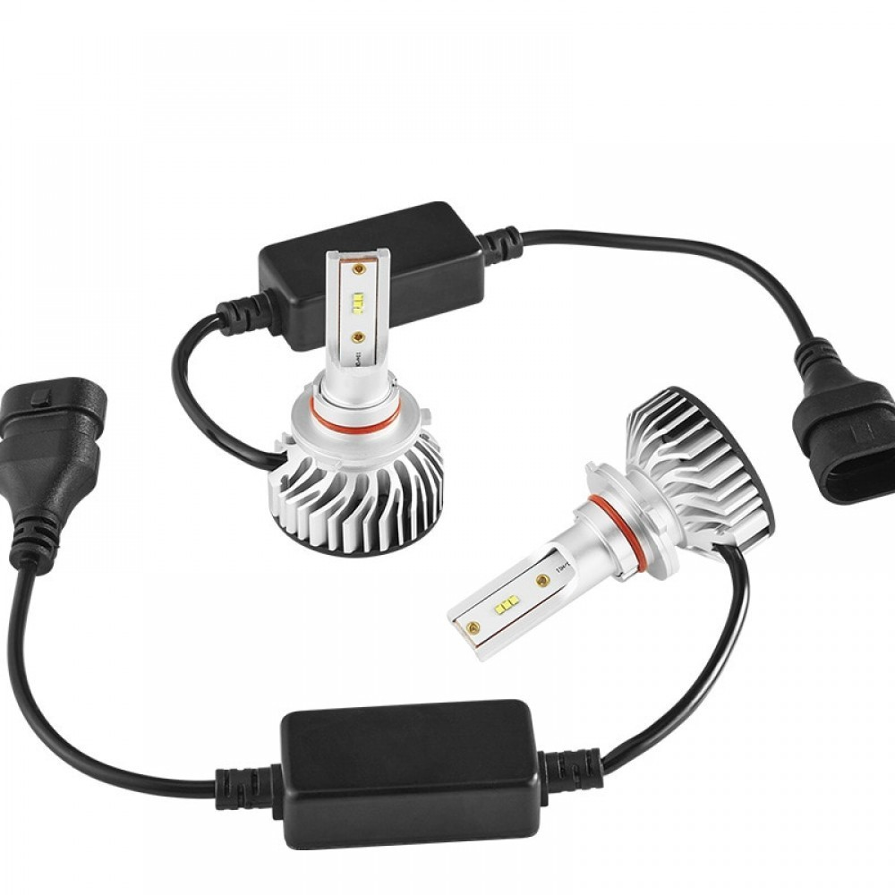 Set becuri LED auto F2, 50W, 4000Lm, 6500k - H1 imagine techstar.ro 2021