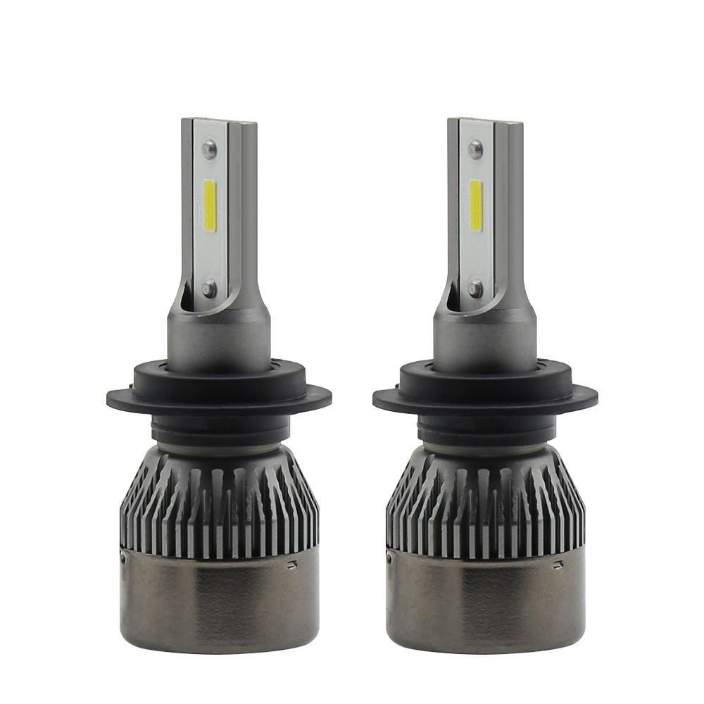 Set becuri LED auto R6 mini, 36W, 7600Lm, 6000k - H4
