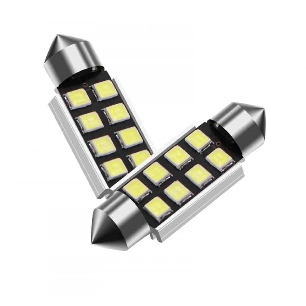 Set becuri LED C5W - sofit, 6 SMD, 3030, CAN-BUS, fara polaritate, 36mm imagine techstar.ro 2021