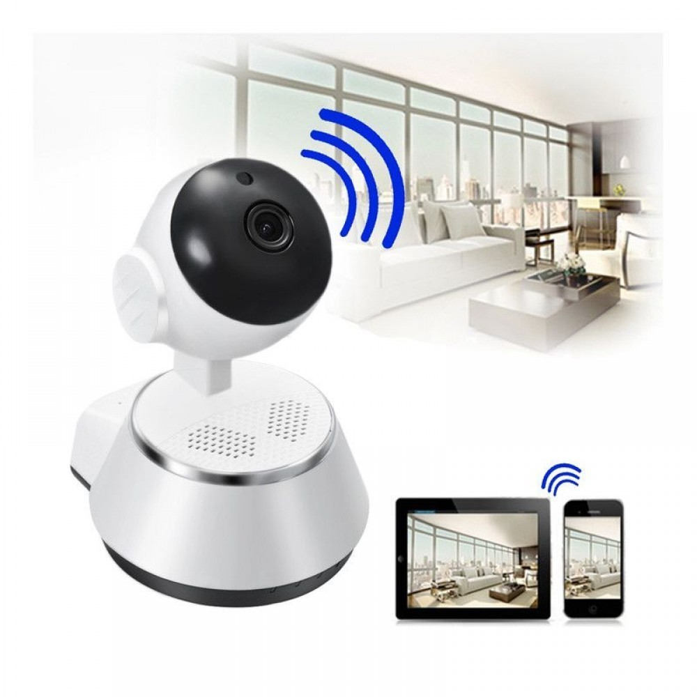 Camera Smart Wireless IP V380, HD. Model Q6S imagine techstar.ro 2021