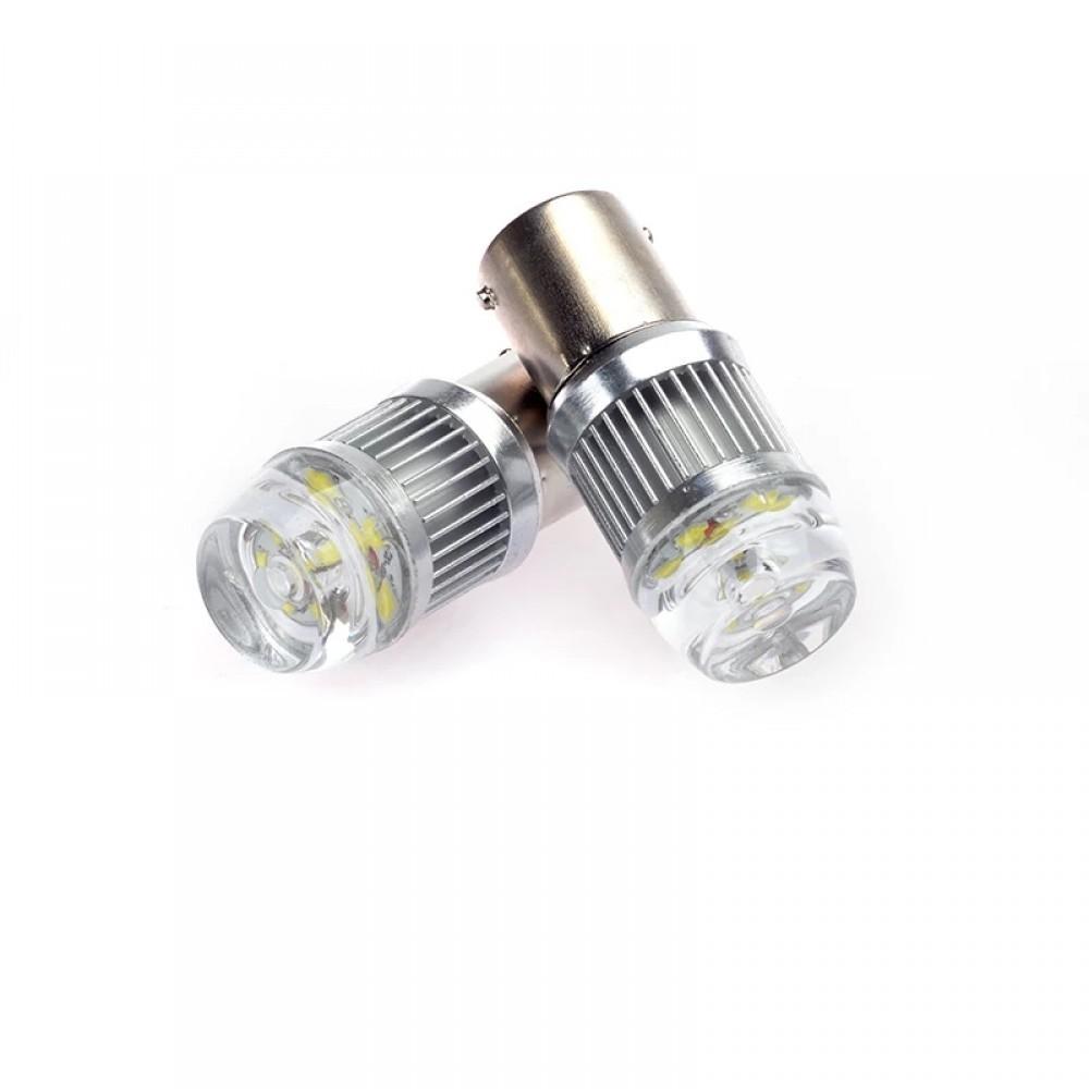Set becuri LED BA15D, 4014, CAN-BUS, doua faze imagine techstar.ro 2021