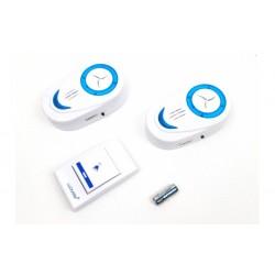 Sonerie wireless cu 2 receptoare Luckarm 7853