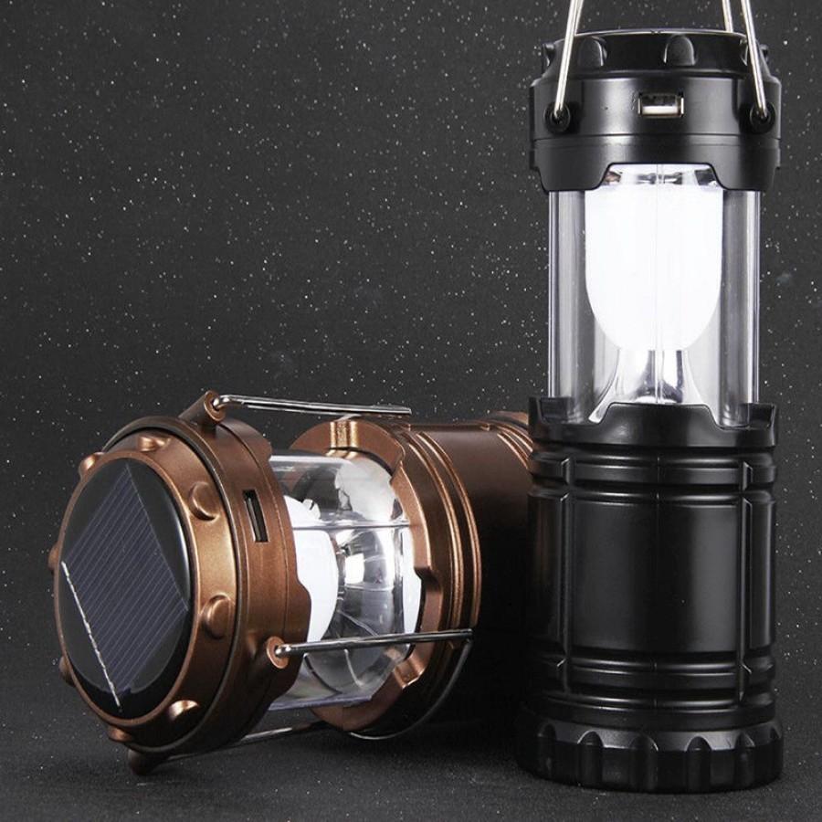 Lampa solara reincarcabila cu functie de baterie externa imagine techstar.ro 2021