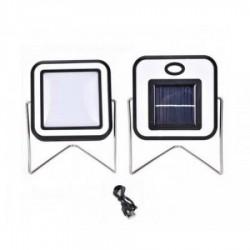 Proiector de lumina 10 W cu incarcare solara si USB