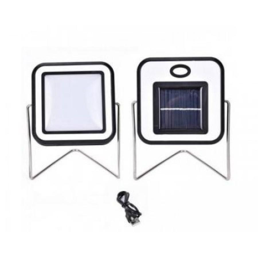 Proiector de lumina 10 W cu incarcare solara si USB imagine techstar.ro 2021