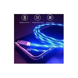 Cablu Magnetic incarcare,3IN1 Led Micro USB,Type C,Iphone Samsung