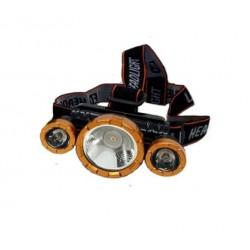 Lanterna frontala,Boruit, KJ-6867, Led 3 x CREE-XM-L T6 ,3000 Lumeni