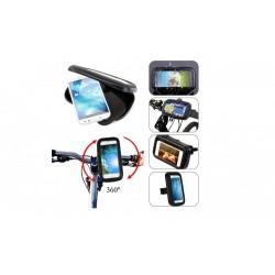 Suport telefon, Universal, pentru bicicleta/motocicleta, Impermeabil