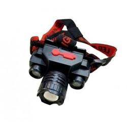 Lanterna de cap KX-1805, 3 faze iluminare, Flux Luminos 180 lm, 150m, Incarcare USB