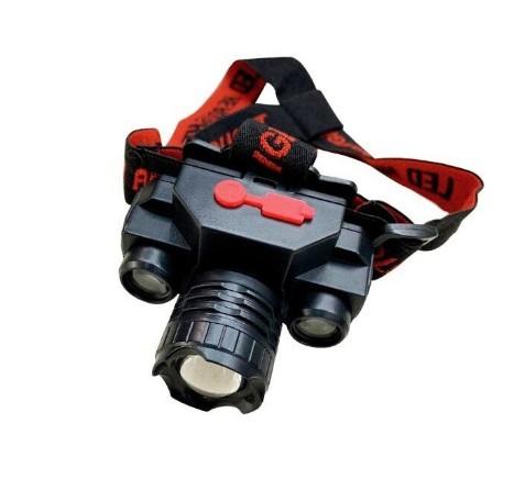 Lanterna de cap KX-1805, 3 faze iluminare, Flux Luminos 180 lm, 150m, Incarcare USB imagine techstar.ro 2021