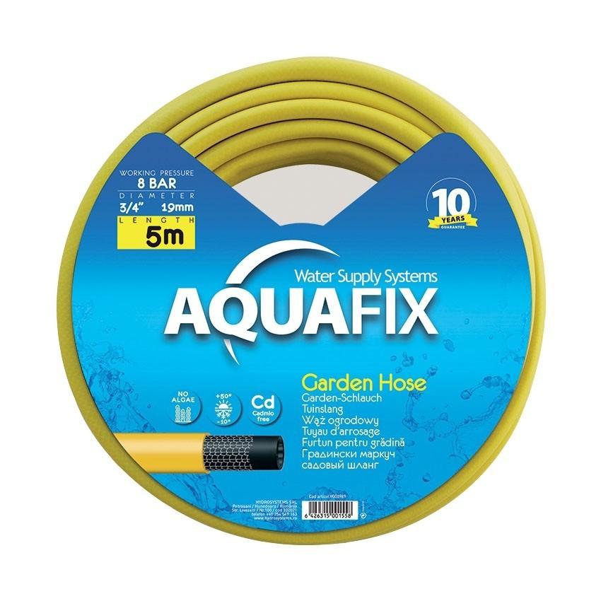 Furtun pentru gradina AquaFix 19mm (3/4'') (5m) imagine techstar.ro 2021