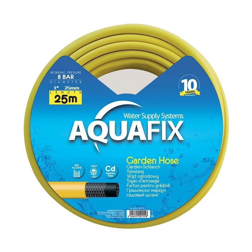 Furtun pentru gradina AquaFix 25mm (1'') (25m) imagine techstar.ro 2021