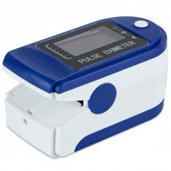 Pulsoximetru digital iUni H8, Indica nivelul de saturatie a oxigenului din sange, Rata pulsului, Albastru