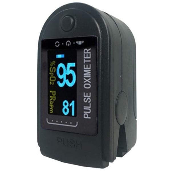 Pulsoximetru digital iUni H8, Indica nivelul de saturatie a oxigenului din sange, Rata pulsului imagine techstar.ro 2021