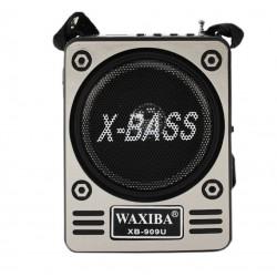 Radio portabil cu acumulator, lanterna, MicroSD, SD Card, USB, AUX