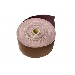 Smirghel pe suport textil, 50m, 100mm, granulatie 80