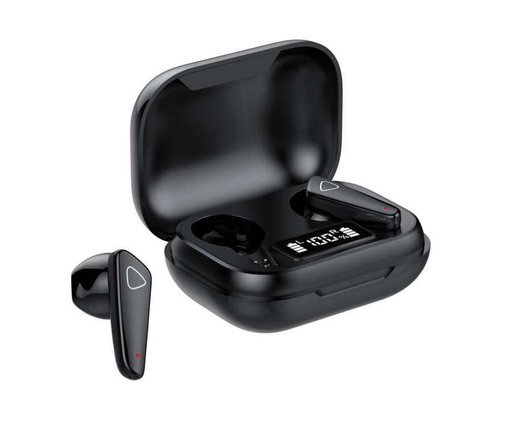 Casti Smart Techstar® TWS S21 , Wireless, Bluetooth V5.0, HD Audio, Touch, IPX5, iOS, Android, 300mAh, Type-C, Negru imagine techstar.ro 2021