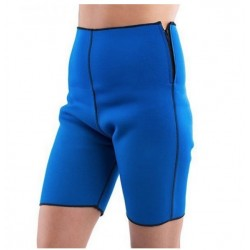 Pantaloni pentru slabit din neopren, albastru