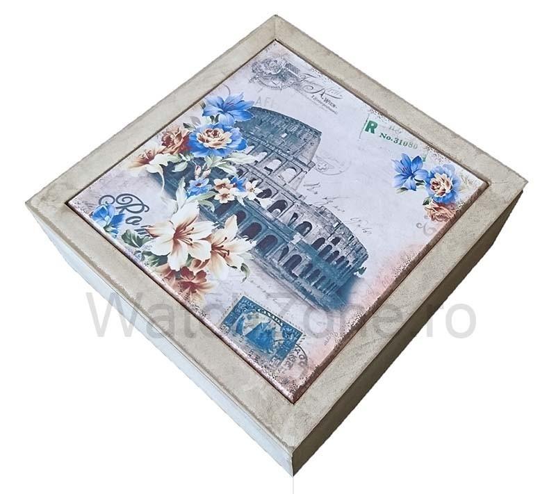Cutie Decorativa Pentru Bijuterii - Colosseum imagine techstar.ro 2021