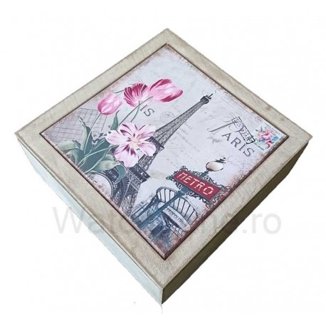 Cutie Decorativa Pentru Bijuterii - Eiffel Tower WZ631