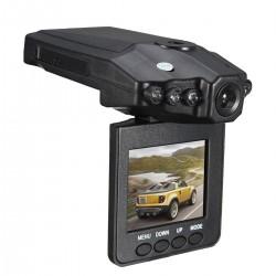 "Camera auto HD cu display 2.5"" TFT rabatabil 270 grade, 6 leduri cu infrarosu si senzor de miscare+cadou"