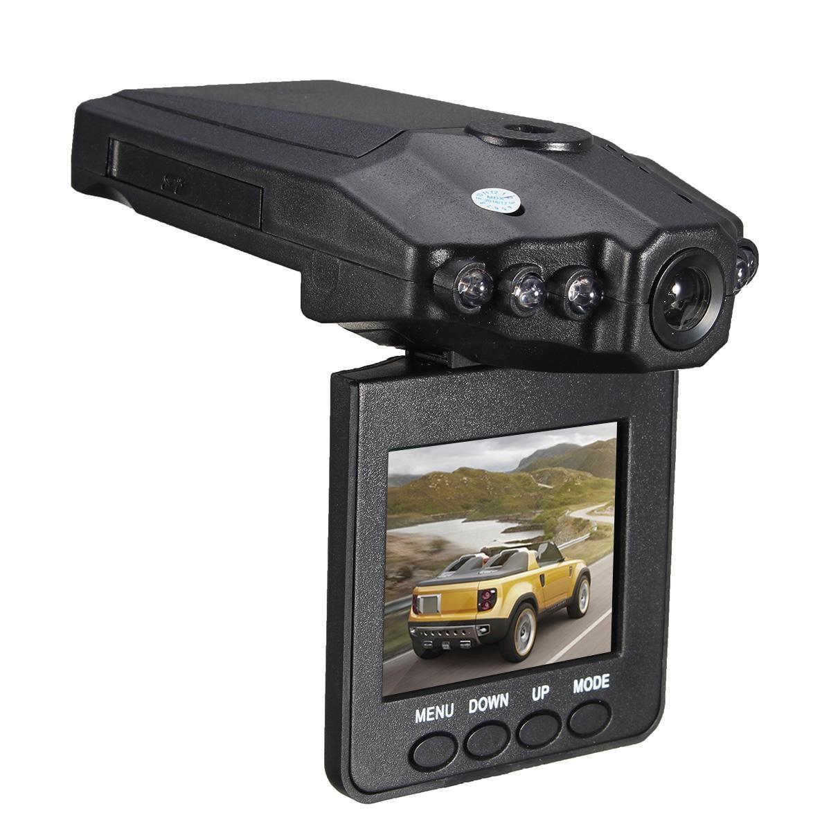 "Camera auto HD cu display 2.5"""" TFT rabatabil 270 grade, 6 leduri cu infrarosu si senzor de miscare+cadou imagine techstar.ro 2021"