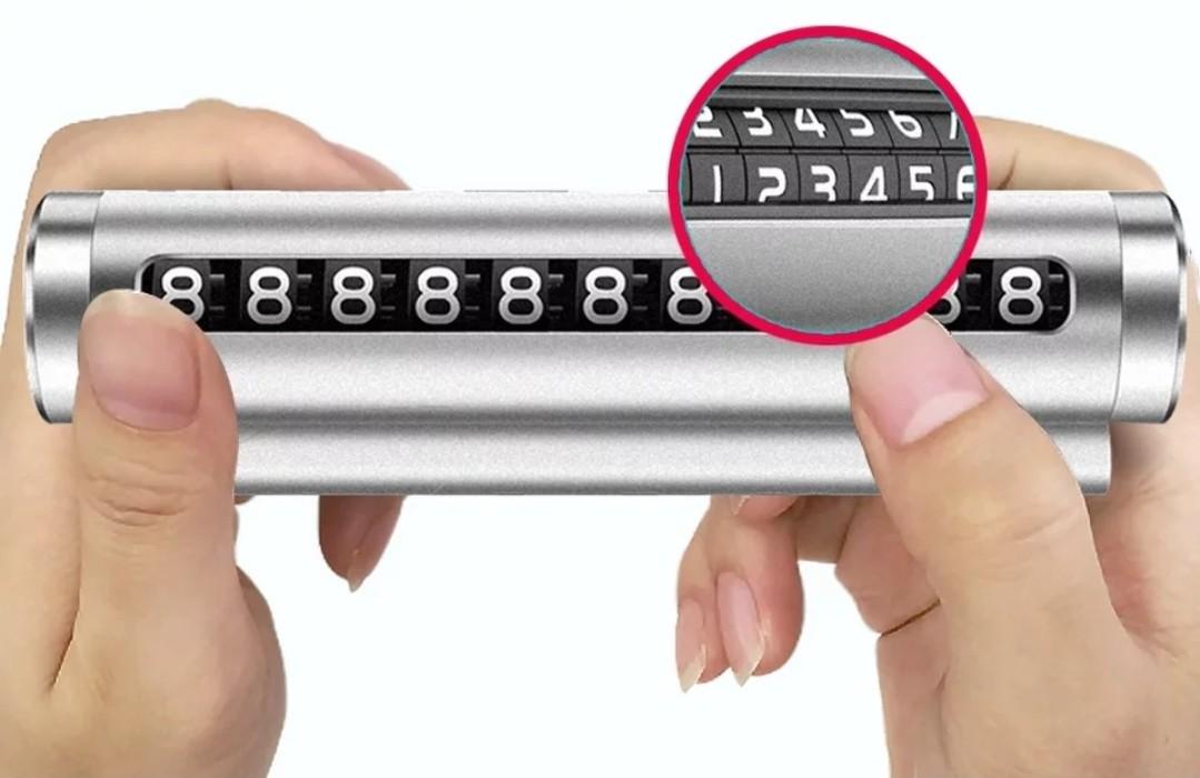 Suport parbriz pentru numar de telefon full metal+cadou imagine techstar.ro 2021