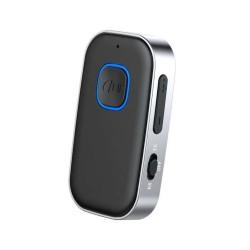 Receptor Bluetooth Techstar® J23, Wireless, Bluetooth 5.0, AUX Out, Acumulator, Clips Prindere