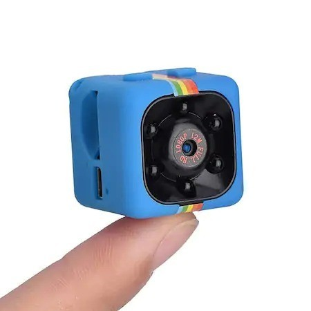 Camera video sport Marashop, COP CAM, Senzor miscare, Infraroru, USB, Multicolor, RMD, 1280x720p imagine techstar.ro 2021