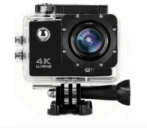 "Camera Video Sport, 4K - Ultra HD, Wifi, Waterproof 30 M, 2"""" LCD, 170 Grade + Accesorii Prindere Cadou imagine techstar.ro 2021"