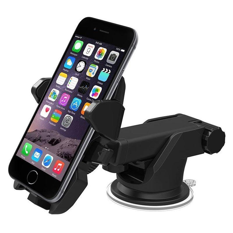 Suport Auto Telefon, Universal, Prindere prin Ventuza, Posibilitate de Rotatie Dispozitiv 360 grade + CADOU imagine techstar.ro 2021