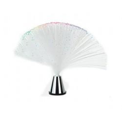 Veioza cu fibra optica si led-uri colorate