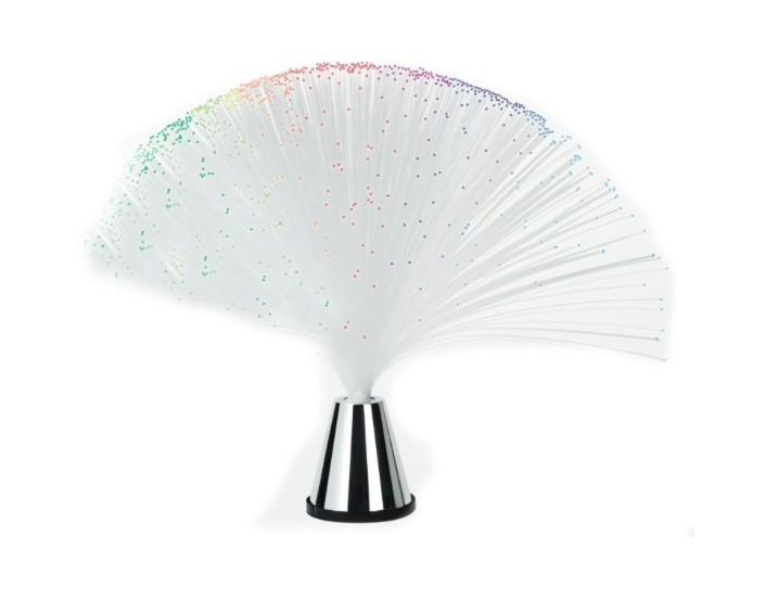 Veioza cu fibra optica si led-uri colorate imagine techstar.ro 2021