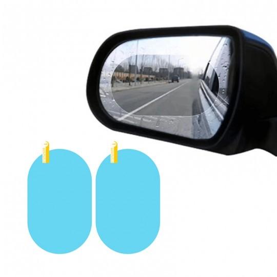Set 2 Folii Oglinda Auto, Universala, Transparenta, Anti Aburire, Anti Ceata, Anti Ploaie, 145x100 mm + CADOU imagine techstar.ro 2021