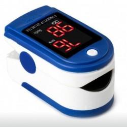 Puls-oximetru LED de Precizie, Puls 25-250 BPM , Saturatie Oxigen 70-100% + Bratara Textila