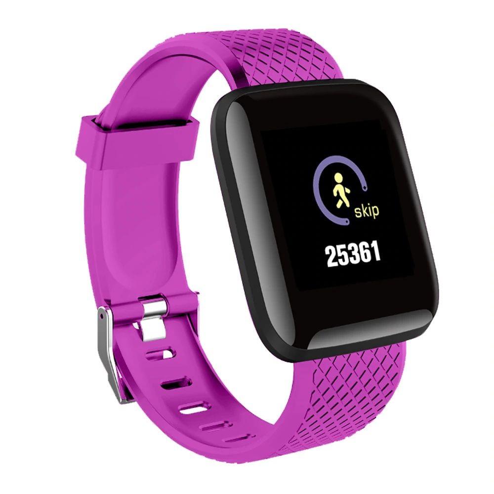 Ceas Smartwatch Techstar® D13 Mov, Bluetooth 4.0, Compatibil Android & iOS, Unisex, Rezistent la Apa,